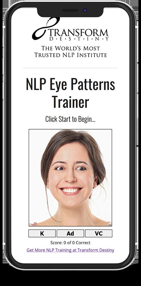 Nlp Eye Pattern Trainer